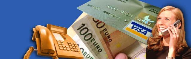 Pagamento Servizi Telefonici con Carta di Credito